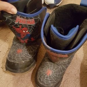 Other - Toddler Spiderman Light Up Boots